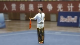 2011 China National Wushu Championships, Men Daoshu Beijing Wang Xi 北京 王曦 9.68