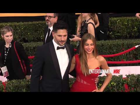 Sofia Vergara, Joe Manganiello Hot couple at 21st Annual Screen Actors Guild Awards Red carpet