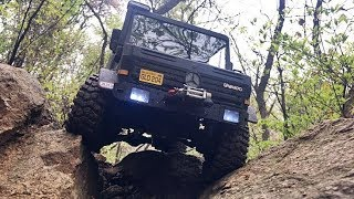 UNIMOG U5000 Offroad [you can see many Rc cars such as Traxxas TRX4, Axial SCX10 in ICORT]