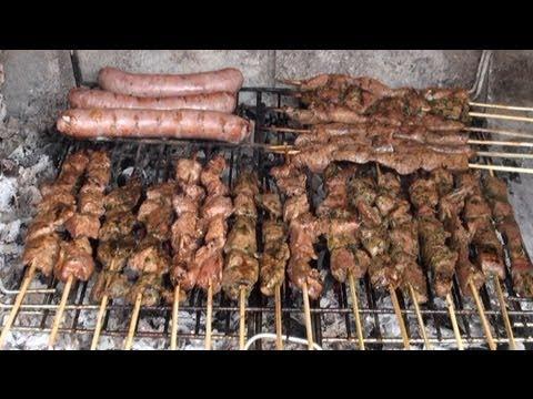 Pinchos de cordero uno hindú y otro  árabe Vídeo receta 16 aquí cocinamos todos Cooking recipe