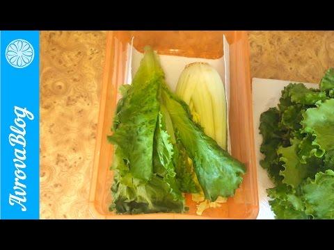 Как я храню листья салата