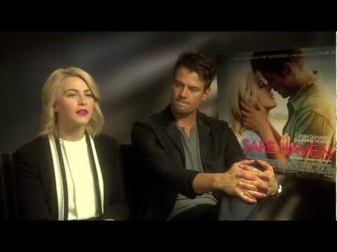 Cosmo chats to the stars of Safe Haven Julianne Hough and Josh Duhamel