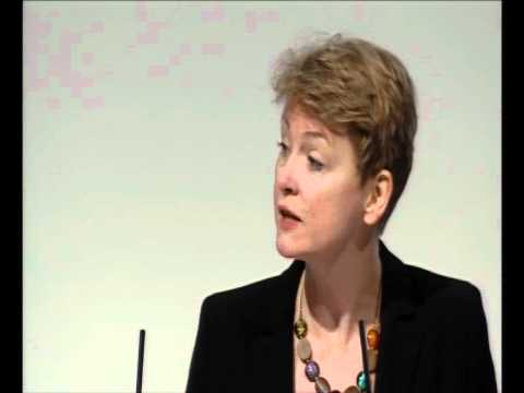 Yvette Cooper addressing the Equalities session at Labour Party Conference 2011