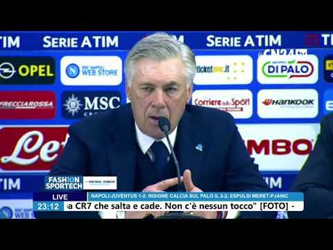 conferenza stampa dopo Napoli - Juventus