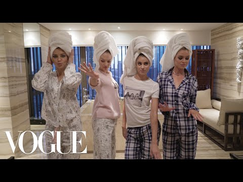 Adriana Lima's Victoria's Secret Sleepover | Vogue
