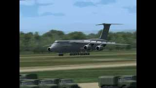FS2004 C-17 Globemaster III and Lockheed C-5 Galaxy