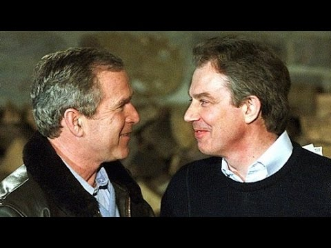 Bush-Blair Secret Iraq War Plot Exposed in Leaked Clinton E-Mails