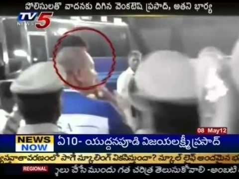 Cricketer Venkatesh Prasad & His wife trades words with cops(TV5)