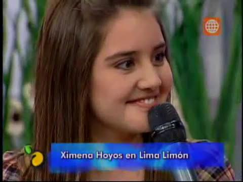 Ximena Hoyos en Lima Limon parte 1