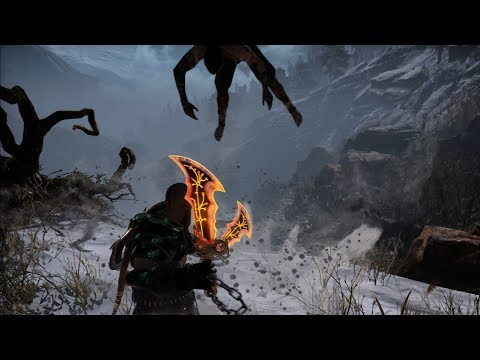 God of War NEW GAME PLUS: Baldur The Stranger Boss Fight