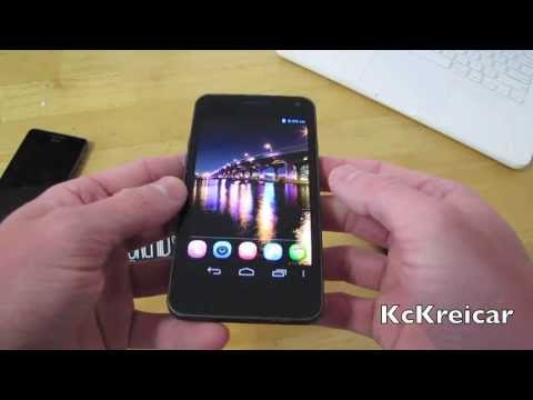 BLU Vivo 4.3 Unlocked Android Phone Size Comparison