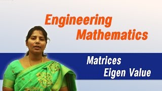 Matrices: Eigen value: Best Engineering Mathematics Tips (AU, JNTU, GATE, DU)