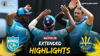 Extended Highlights | Saint Lucia Kings v Barbados Royals | CPL2021