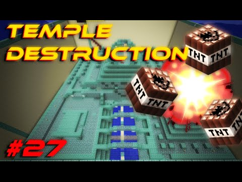 Ocean Monument Removal! | Minecraft Vanilla 1.8 Survival Ep. 27