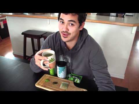 Green Tea. Healthy Alternative to Coffee!!! BenjiManTV
