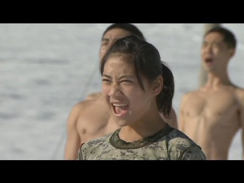 Military training for South Korean special forces - no comment