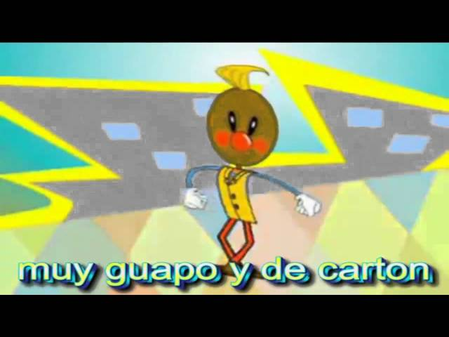 Pin Pon es un Muñeco - Letra ProduccionesHA