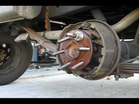 Dodge Dakota How To: Installing Long Milodon Wheel Studs