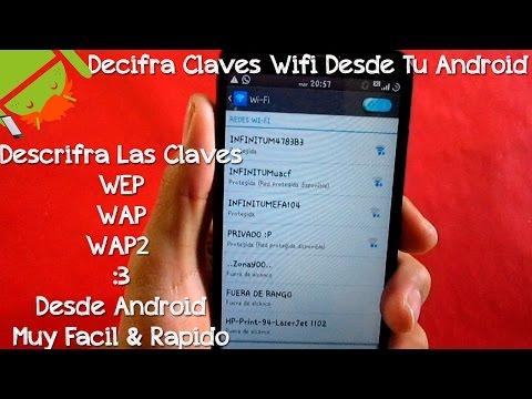 Descifrar Claves Wifi Desde Android   Descifrar Claves Wep. Wap & Wap2 Desde Android Muy Facil.