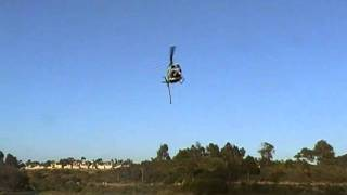 Sheriff Bell 205 Fire Helicopter