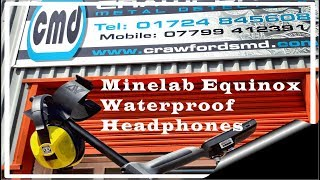 Minelab Equinox Official Waterproof Headphones, Review,Release