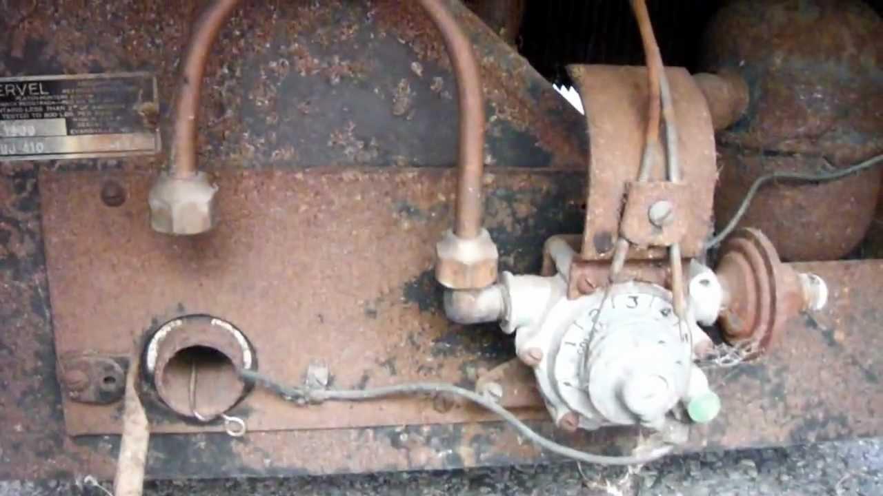 VINTAGE 1930 SERVEL ELECTROLUX GAS REFRIGERATOR YouTube