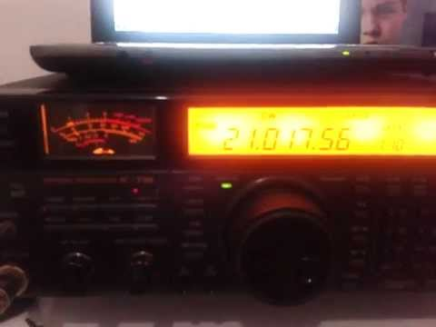 RI1ANF on 21MHz CW worked by PY2ZEA & PY2EL