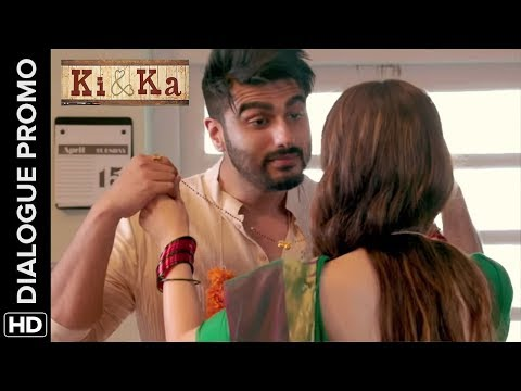Arjun Wants To Take Care Of The House | Ki & Ka | Dialogue Promo