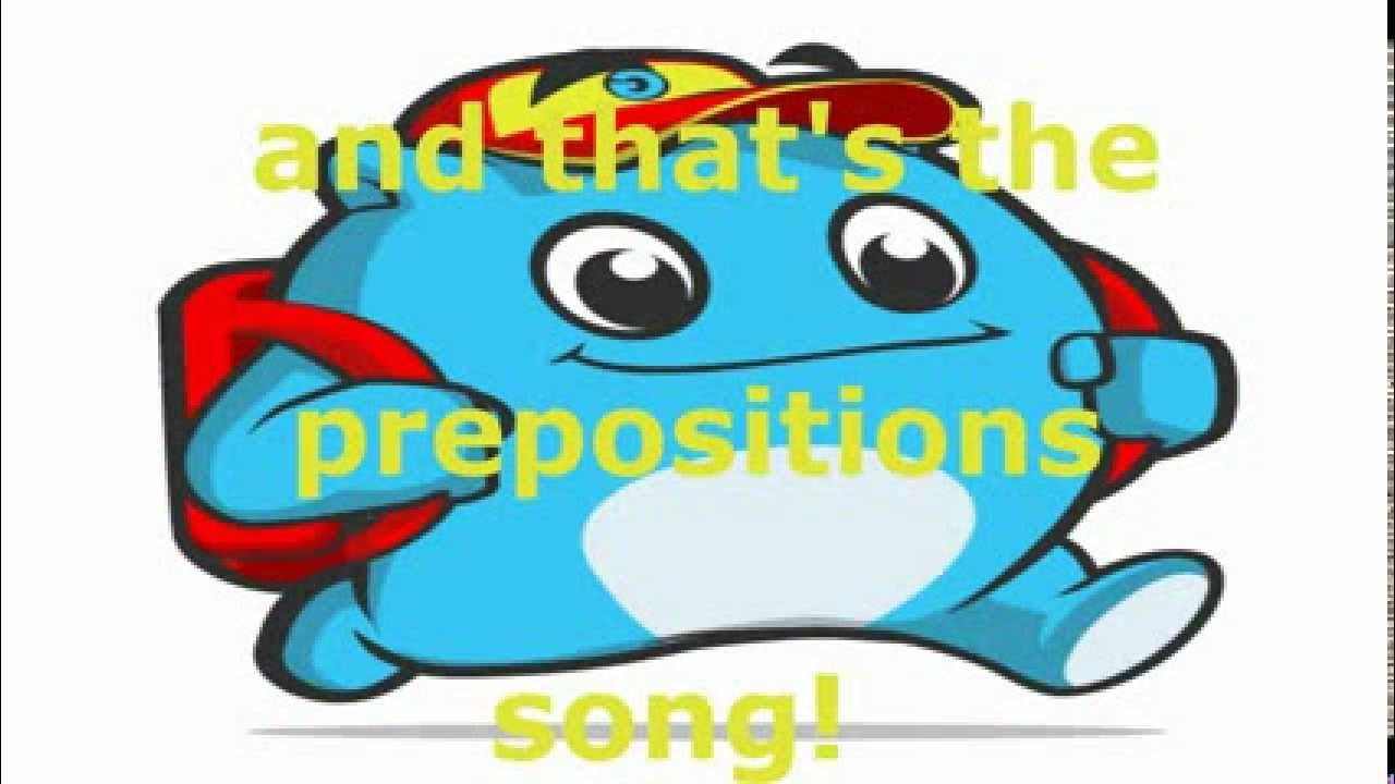 Preposition Song | giftsforsubs