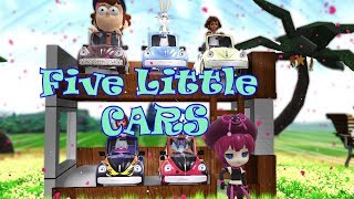 Five Little Car | Kids Song | Baby Song | Children Song | Nursery Rhyme