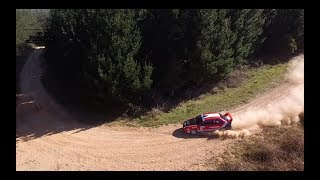 DJI Drone Aerial footage Caves Classic Rally 2019