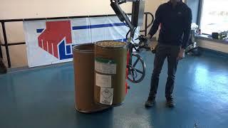 Vacuum Gripper to Lift & Rotate Drums   Lift Rite Ltd.