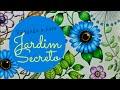 Jardim Secreto  - Secret Garden - Flor Azul