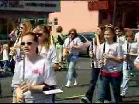 The Dalles Middle School Marching Band