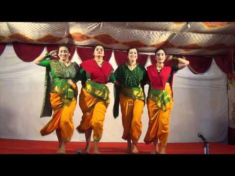 Aika Dajiba By Aditi,deepti,anita And Medha At Ganesh Festival Celebrations!! video