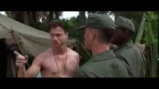 Forrest meets Lt. Dan (Forrest Gump, 1994)
