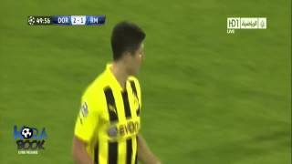 Borussia Dortmund 4 1 Real Madrid Lewandowski 4 goals