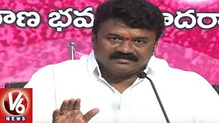 Minister Talasani Srinivas Yadav Criticize Uttam Kumar Over TRS Manifesto Comments