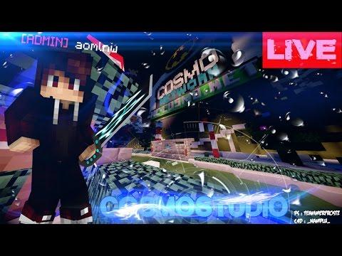 Live   Admin Minecraft Cosmo   lobby ใหม่ต้องเสร็จ! 2/5/2017