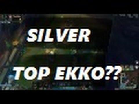 Top lane Ekko vs Garen s6 full game ranked