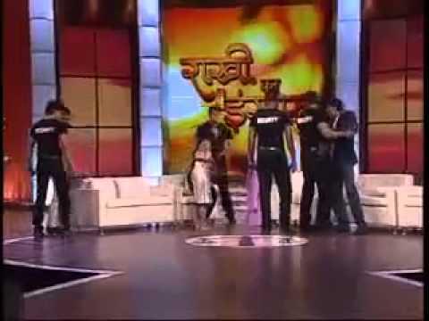 indian actors rakhi sawant Sabon & Other Fight on live show