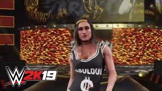 WWE 2K19 Carmella entrance video
