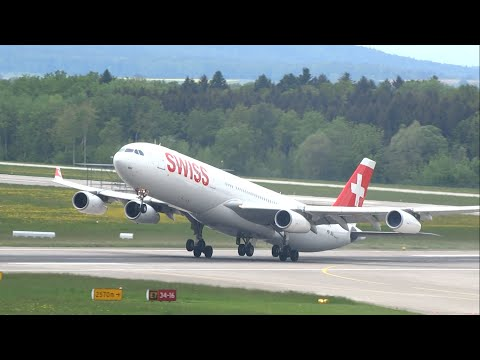   HD   Spotting Zurich Airport / ZRH - LSZH