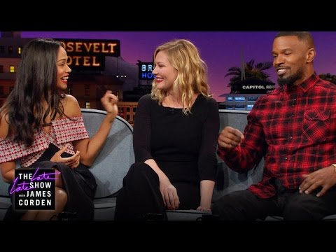 Zoe Saldana, Kirsten Dunst & Jamie Foxx Have Kid Problems