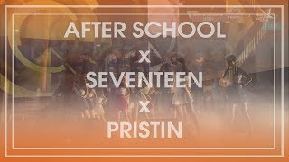 download lagu After School X Seventeen X Pristin - Bang gratis