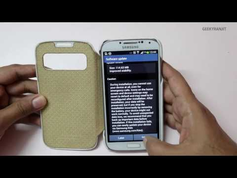 Samsung Galaxy S4 Software Firmware Update XXUEMK9