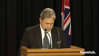 New Zealand's new Government revealed by Winston Peters | Newshub