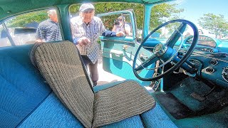 Surprising Dad for 99th birthday with '55 Ford he never thought would run again