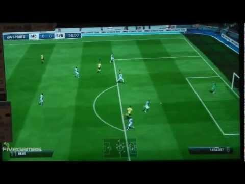 FIFA 13 - Manchester City vs Bor. Dortmund | Demo Gameplay [HD]