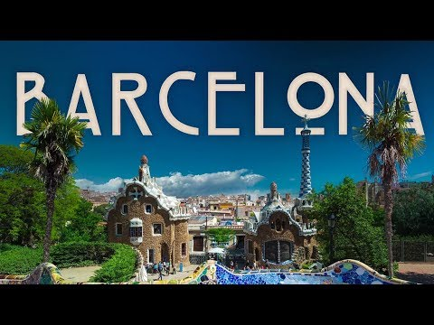(HD1325) 5 minutes in Barcelona, Spain - Barcelone, Espagne - GoPro Hero